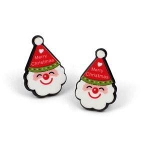 Santa Claus Stud Earrings